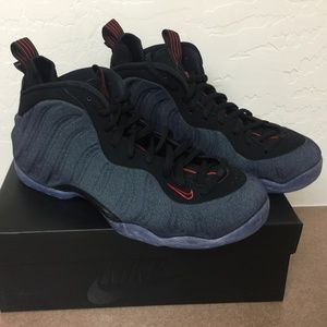 NIKE AIR FOAMPOSITE ONE DENIM OBSIDIAN